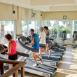 Foto Stock: Health club