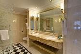 ホテルの浴室 — ストック写真