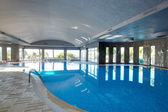 Spa Resort-Hallenbad — Stockfoto