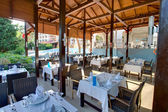 Open-air restaurant — Stock Photo