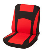 Red Car seats. — Stock Photo