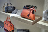 Coccinelle store. Fashion bags and accessories. — Stock Photo