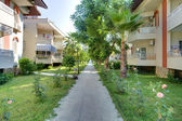 Footpath in hotel — Stockfoto