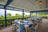 Restaurant in residential complex in Side — Fotografia Stock