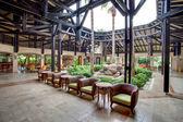 Lobby van het hotel — Stockfoto
