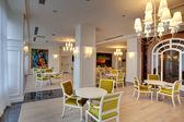 Restaurant in het hotel — Stockfoto