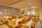Restaurangen på hotell — Stockfoto
