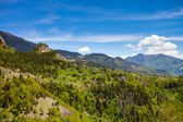 Mountain landscape in Georgia, Caucasus — Stock Photo