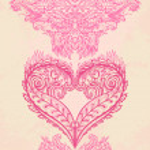 Heart shape greeting valentine card — Stock Vector #37522473