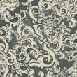 Seamless vintage baroque pattern — Stock Vector