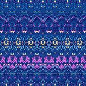 Ethnic pattern in retro colors — Stock Vector