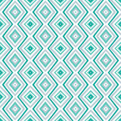 Ethnic rhombus pattern in retro colors — ストックベクタ