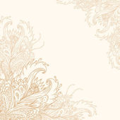 Vintage ornate background — Stock Vector