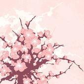 ρομαντική floral φόντο — Διανυσματικό Αρχείο