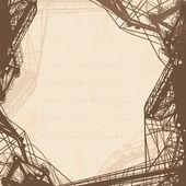 抽象的な産業の背景 — ストックベクタ