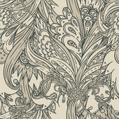 Vintage background baroque pattern — Vettoriale Stock