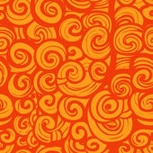 Wzór z swirls — Wektor stockowy