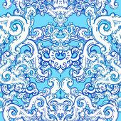 Vintage background baroque pattern — Stock Vector