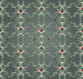 Vintage baroque pattern — Vecteur