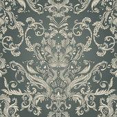 Vintage baroque pattern — Stock Vector