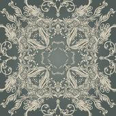 Vintage barok desen — Stok Vektör