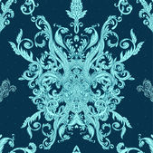 Seamless vintage baroque pattern — Wektor stockowy