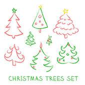 Christmas doodles. — Stock Vector