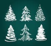 рождественские каракули. — Cтоковый вектор