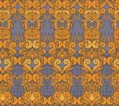 Floral paisley indian ornate pattern — Wektor stockowy
