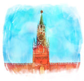 Russia: Moscow Kremlin — Stock Photo