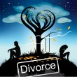 Stock Vector: Divorce