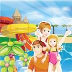 Summer family — Stock Vector #37974659