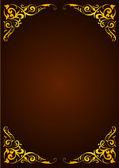 Elegant template for greeting card, invitation — Stock Vector