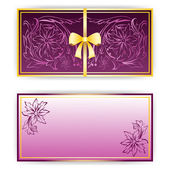 Exquisite template for greeting card, invitation — Stock Photo