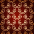 Seamless with elegant damask pattern — Stock Photo