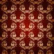 Seamless with elegant damask pattern — Stock Photo #42870893