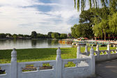 Houhai Lake, Beijing, China — Stock fotografie