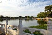 Houhai Lake, Beijing, China — Stock Photo