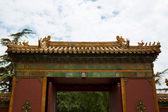 Beijing, Lama temple — Stock Photo