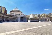 Piazza del Plebiscito, Napoli — Stock Photo