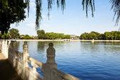 Houhai Lake, Beijing, China — Foto Stock