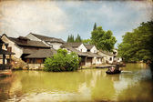 Wuzhen, China — Foto Stock