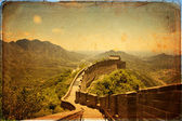 Great Wall of China — 图库照片