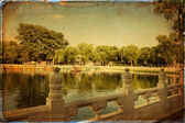 Houhai Lake, Beijing, China — Stockfoto