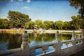 Houhai Lake, Beijing, China — Stock fotografie