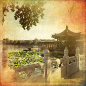 Houhai Lake, Beijing, China — Stock Photo