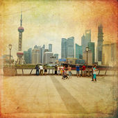 Shanghai, China — Foto Stock