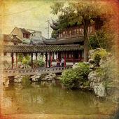 Traditional Garden, Shanghai — Stock fotografie