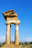 Ancient Greek Temple of the Dioscuri — Stok fotoğraf