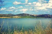 Lago Arancio — Stock Photo